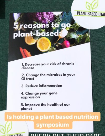 Reasons to go plant based